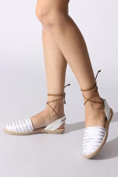 Sandale plate Rovigo 6971679 alb