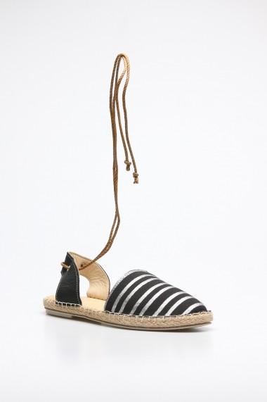 Sandale plate Rovigo 6971679 negru