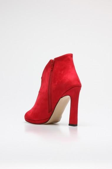 Sandale cu toc Rovigo 388977 rosu