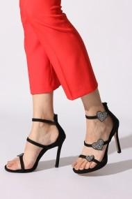 Sandale cu toc Rovigo 389965 negru - els