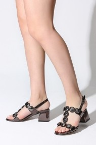 Sandale cu toc Rovigo 10536016 argintiu
