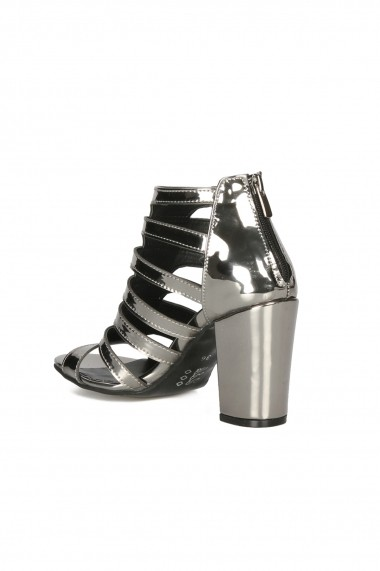 Sandale cu toc Rovigo 5634532 argintiu