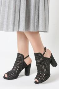 Sandale cu toc Rovigo 5634562 negru