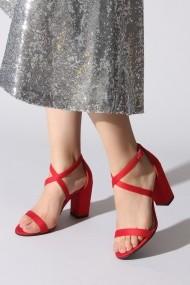 Sandale cu toc Rovigo 5871916 rosu