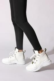 Pantofi sport casual Rovigo 8101 alb