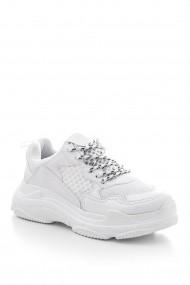 Pantofi sport Tonny Black BLS-Q-2 Alb