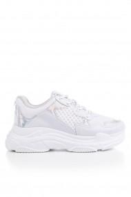Tonny Black Sneaker cipő OYO-BLS-Q-WHITE_SILVER Fehér