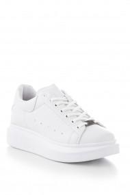 Pantofi sport casual Tonny Black ALX-0 Alb - els