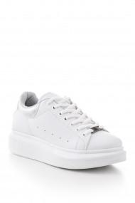 Pantofi sport casual Tonny Black ALX-1 Alb - els