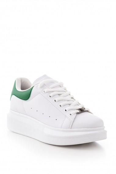 Pantofi sport casual Tonny Black ALX-0 Alb