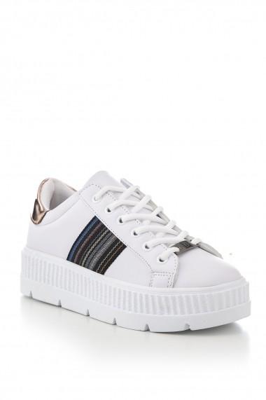 Pantofi sport casual Tonny Black TB237-1 Alb