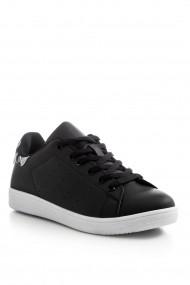 Pantofi sport casual Tonny Black TBSTN-1 Animal print