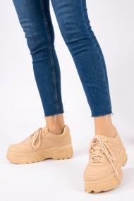 Cпортни oбувки Fox Shoes OYO-H288018809-Tan Бежов