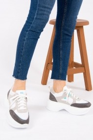 Pantofi sport Fox Shoes H288259002 alb