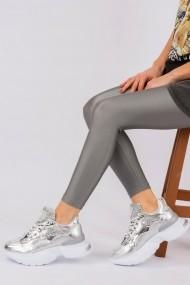 Pantofi sport Fox Shoes H583210309 argintiu