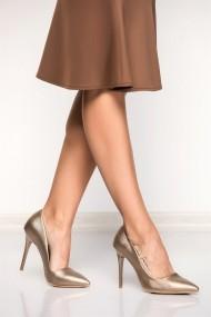 Pantofi cu toc Fox Shoes 8922151909 argintiu