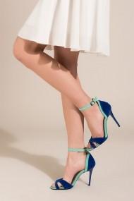 Pantofi cu toc Fox Shoes B922113802 turcoaz