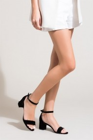 Pantofi cu toc Fox Shoes B922631002 negru
