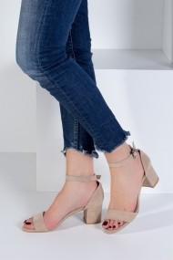 Pantofi cu toc Fox Shoes B922631002 bej
