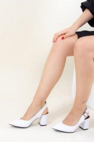 Pantofi cu toc Fox Shoes B922922009 alb