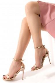 Pantofi cu toc Fox Shoes D752114434 bronz
