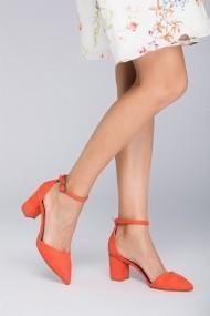 Pantofi cu toc Fox Shoes D922676702 portocaliu