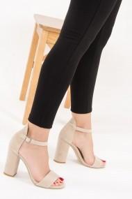Pantofi cu toc Fox Shoes F283283002 bej