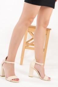 Pantofi cu toc Fox Shoes F283283009 bej