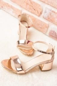 Pantofi cu toc Fox Shoes F283286534 bronz