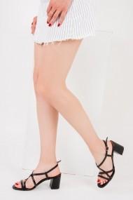 Pantofi cu toc Fox Shoes F654028009 negru