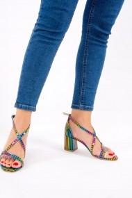 Pantofi cu toc Fox Shoes F654128108 multicolor