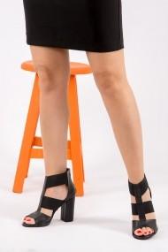 Pantofi cu toc Fox Shoes H283287609 negru
