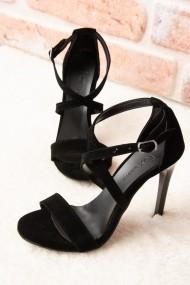 Pantofi cu toc Fox Shoes H283291202 negru