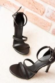Pantofi cu toc Fox Shoes H283292909 negru