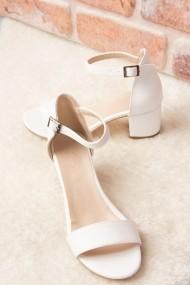 Pantofi cu toc Fox Shoes H303300009 alb
