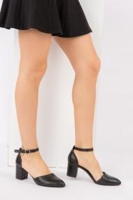 Pantofi cu toc Fox Shoes H303370809 negru