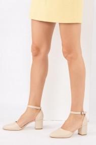 Pantofi cu toc Fox Shoes H303370809 bej