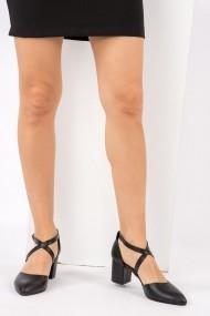 Pantofi cu toc Fox Shoes H303373709 negru