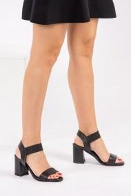 Pantofi cu toc Fox Shoes H340101309 negru