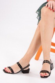 Pantofi cu toc Fox Shoes H654003554 negru
