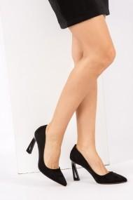 Pantofi cu toc Fox Shoes H752272002 negru