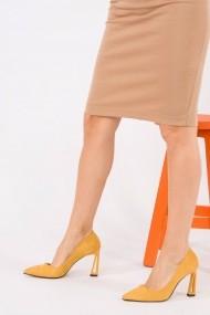 Pantofi cu toc Fox Shoes H752272002 mustar