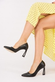 Pantofi cu toc Fox Shoes H752272009 negru
