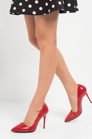 Pantofi cu toc Fox Shoes 8922151908 Rosu