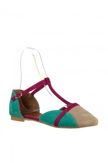 Balerini Fox Shoes B726881802 bej