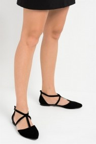 Balerini Fox Shoes D726537302 negru