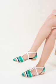 Balerini Fox Shoes D726537304 verde