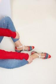 Balerini Fox Shoes D726537304 rosu