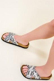 Papuci Fox Shoes B777742207 negru