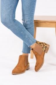 Ghete Fox Shoes G288050102 Animal Print